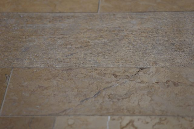 Stone floors with different processes