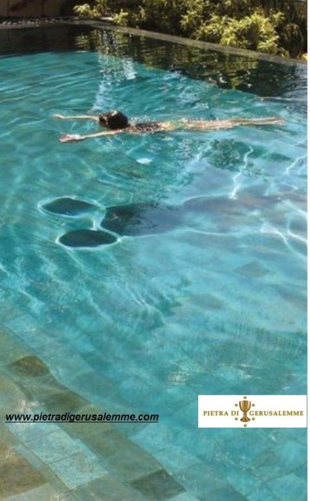 Pietra di Gerusalemme per piscine