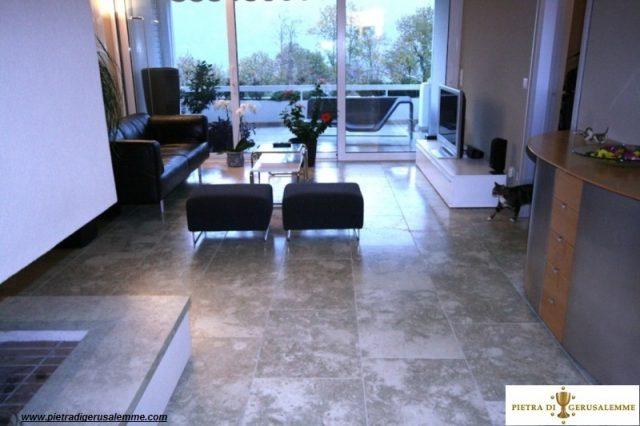Pavimenti moderni in pietra