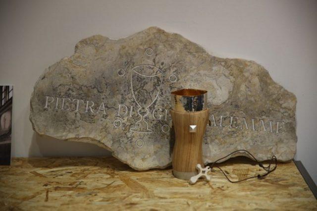 каменная выставка в KOINE Wicenza