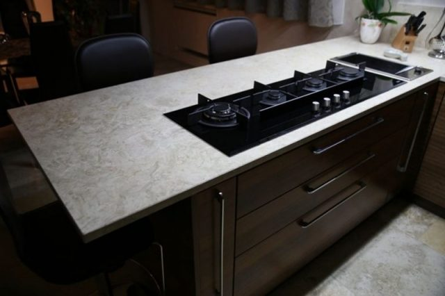 Custom kitchen top