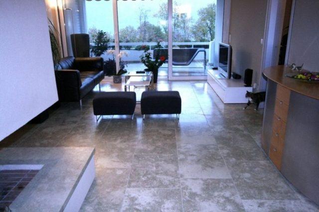Modern stone floors