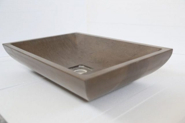 Solid sink for kitchens