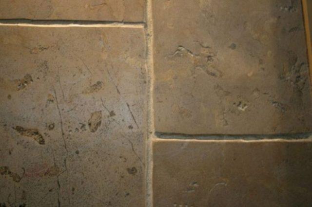 rustic stone floor