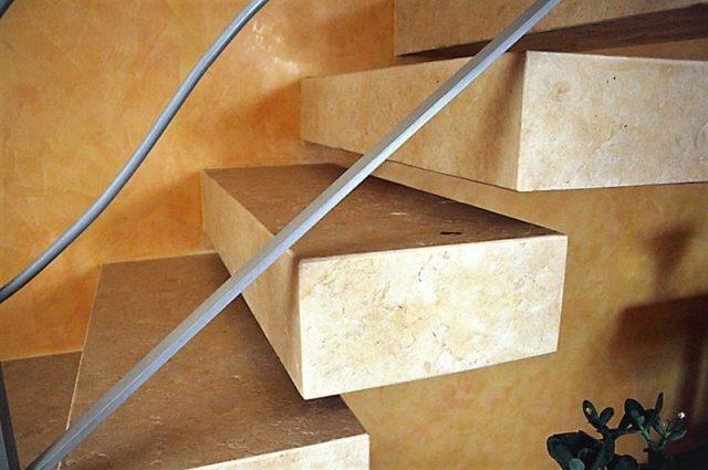 Разработанные лестницы