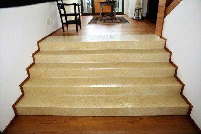 современных каменных лестниц