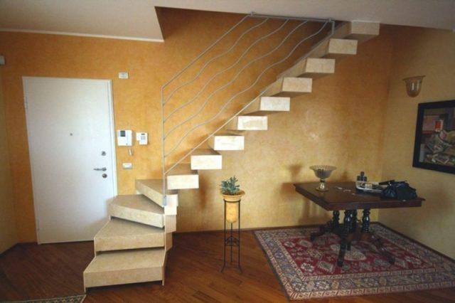 Элегантные каменные лестницы из камня из Иерусалима