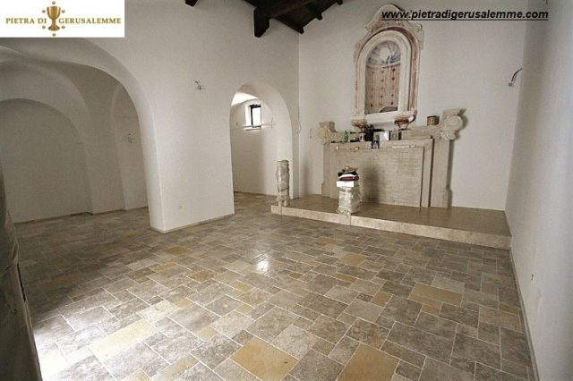 Pavimentazione in Pietra di Gerusalemme Biblical chiesa di Pisticci